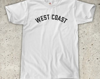 West Coast T-Shirt - All Colours - Unisex / Mens S M L XL