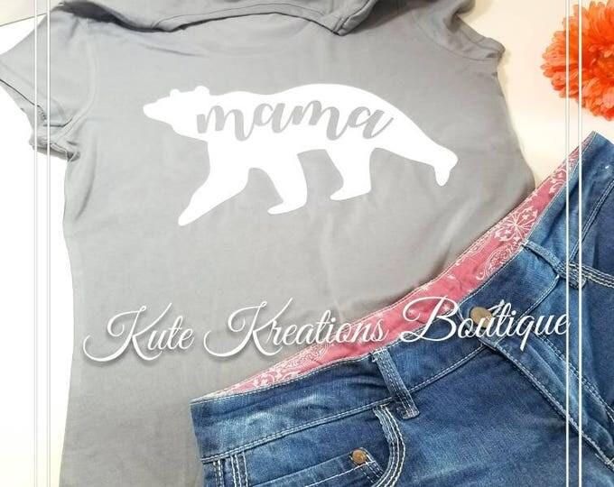 Featured listing image: Mama Bear T-Shirt,Mama Bear Shirt,Mama Bear.