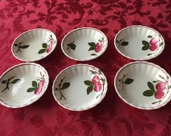 Blue Ridge, Southern Pottery, Inc. Fruit Bowls.