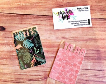 Planner Bookmarks // Notes, To Do // Paradise Isle