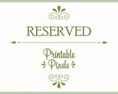 Reserved for Toni