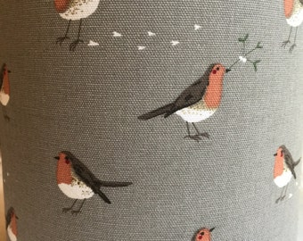 20cm Lampshade in Robin Fabric by Sophie Allport