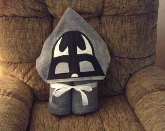 Character Hooded Bath Towel