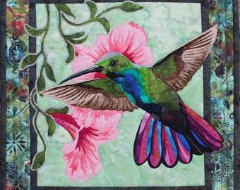 Toni Whitney Design Hummingbird Applique Quilt Pattern