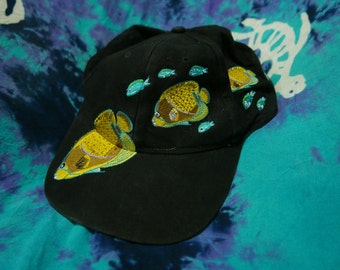 GREAT BARRIER REEF Cap Embroidered fish one size/Black