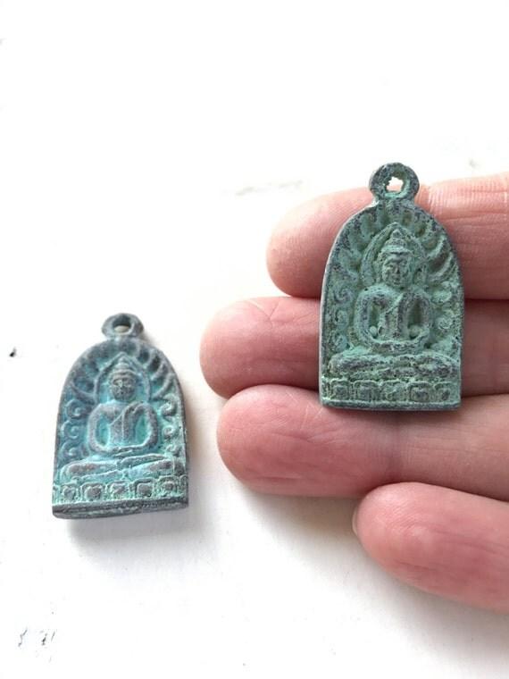 Buddha Charm, Tassel Charm, Mala Bead Charm
