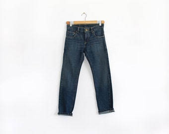 Vintage 511 Levi's mid rise straight leg jeans