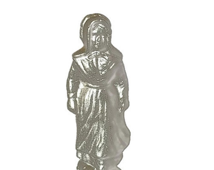 Wilton Armetale Pewter Amish Figurines Man and Woman   Pilgrams   Dutch   Amish   Early Settlers