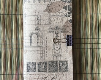 Traveler's Notebook Insert - Travel theme