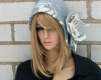 Felted hat  for women