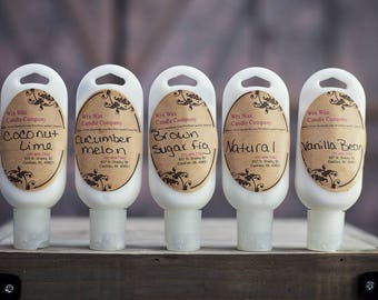Lotion - Hand Lotion - Scented Lotion - Organic Lotion - Vegan Lotion - Natural Lotion - Hand made Lotion - Moisturizing Lotion