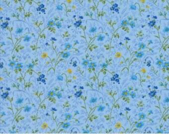 Summer Breeze IV Yardage by Moda Fabrics. Blue 33284 13