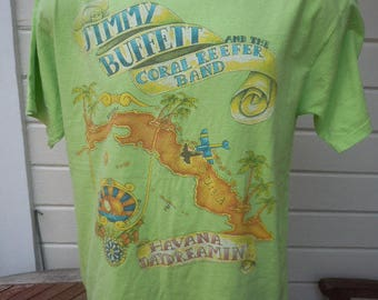 Size XL (48) ** 1997 Jimmy Buffett Concert Shirts (Plus 2nd jimmy Buffett Shirt Free) (Double Sided)