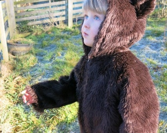 Handmade Childs Bear Costume