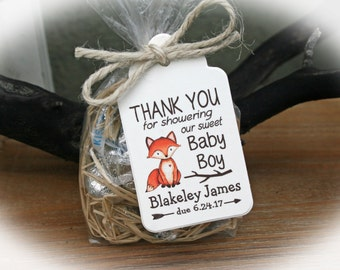 Baby shower favor etsy fox baby shower favor woodlands baby shower favor kit baby shower favor kit negle Images