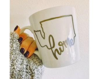 Washington State Mug // Coffee Mug // Pacific Northwest
