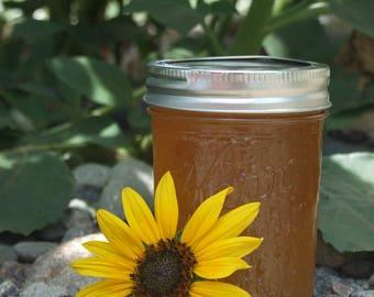 Sunflower Jelly (4oz. SAMPLER) - Tastes Like SUNSHINE!!! - TheSunshineJellyCo
