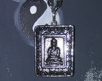 Buddha good fortune and peace necklace