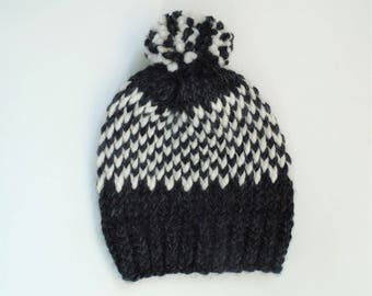 Made to Order Fair Isle Knit Hat