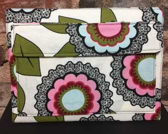 eReader cover ( Kindle / Nook ) - Flowers and Lace