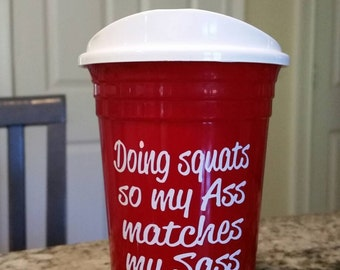 Adult sippy cup! Custom wording