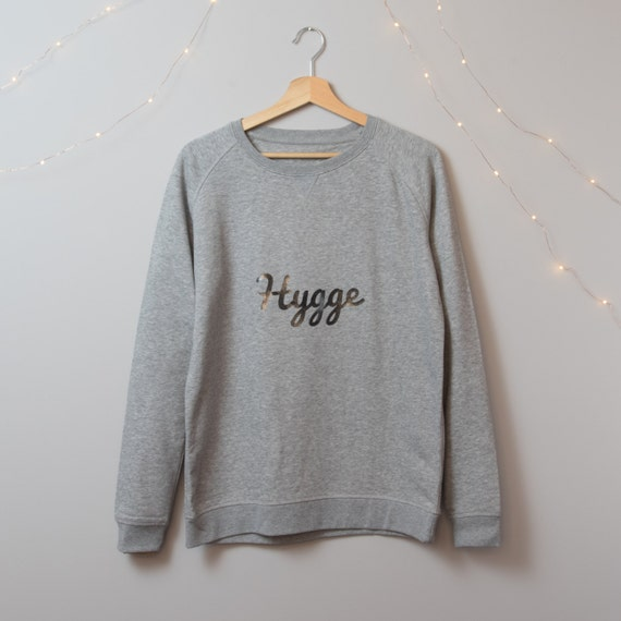 Hygge Jumper - Cosy Organic Cotton Jumper from Hello Wellness - Wellbeing Health & Wellness Clothing