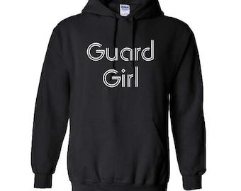 Guard Girl - Guard Hoodie - includes personalization
