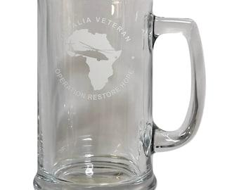 Somalia Veteran Beer Mug - FREE SHIPPING