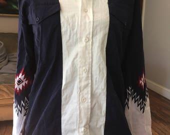 vintage 1990's western shirt