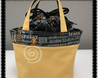 Lunch Bag, Small Tote, Runner Tote