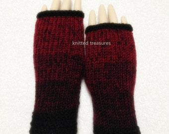 Unique Design Wool Fingerless Gloves Only One