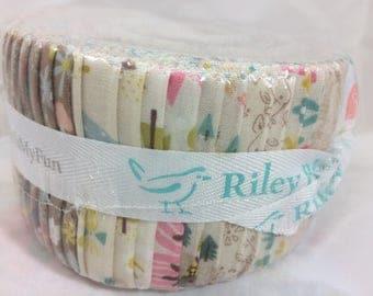 Goldilocks Jelly Roll by Jill Howarth for Riley Blake Fabrics