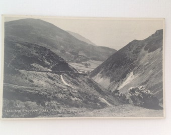 Old Postcard The Sychnant Pass North Wales Real Photo Unposted Judges Ltd 1930