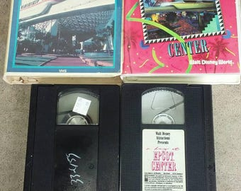 80s two Epcot centre VHS