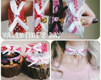 Valentine's Day Chokers