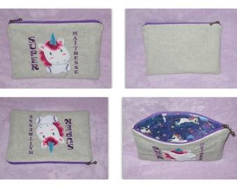 Gift mistress zippered pouch