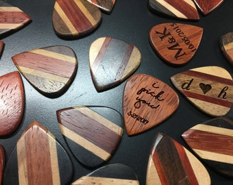 Design a Pick - Custom Wood Guitar Picks