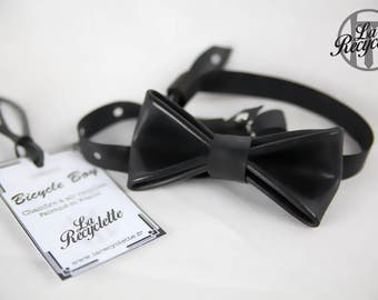 bow tie, inner tube, up cycling