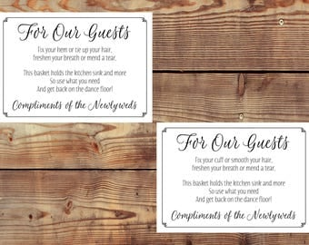 INSTANT DOWNLOAD Printable Women's and Men's Bathroom Basket Sign Digital Files