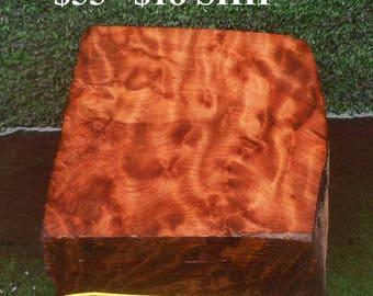 BL507  Wood turning Block/Blank  Redwoodburl craft wood