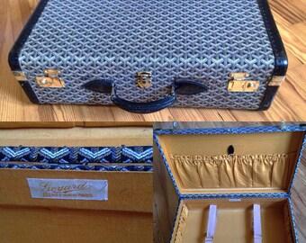 Goyard trunk suitcase