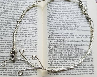 Wire Wrapped Dragon Choker- Daenerys Targaryen Inspired