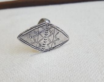 fine tuareg silver ring