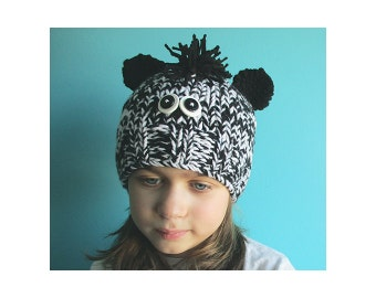 Demo CLEARANCE / 3-4Y Zebra Hat