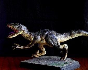 Jurassic Park Velociraptor Model Maquette