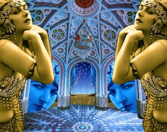 Limited edition digital print - Arabesque Magic # 9