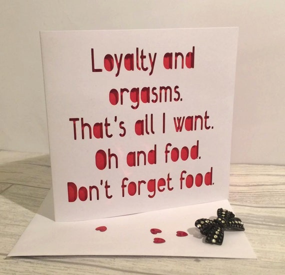 Rude Valentines Card Valentines Card Funny By AprilDaysDesigns