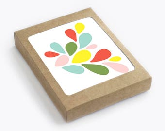Petals - Blank Card Set - Pack of 8
