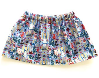 WONDERLAND // alice in wonderland skirt // rifle paper co// baby and toddler skirt