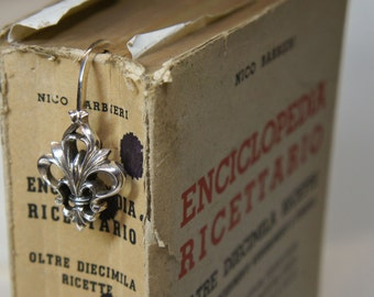 Silver Firenze bookmark